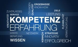 Word Cloud Kompetenz Erfahrung Business