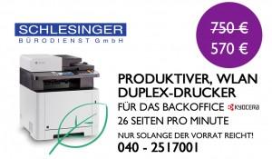 Kyocera M5526cdw Kopierer Drucker Miete Kauf Leasing