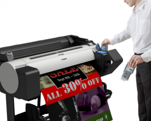 canon a1 grossformatdrucker tm-200 mieten